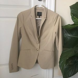 The Limited Tan Suit Jacket